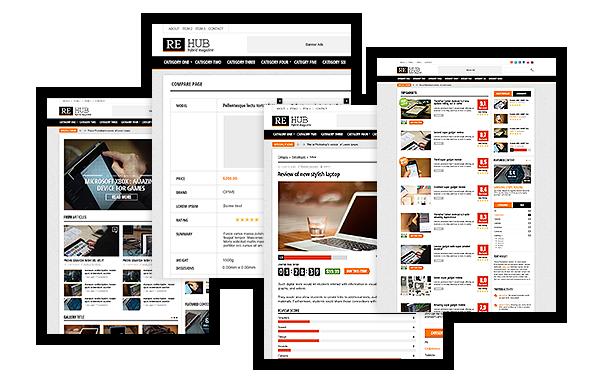 hybrid content magazine