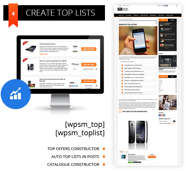 top lists wordpress