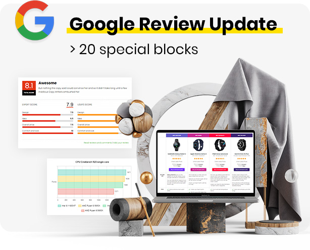 Google review update blocks