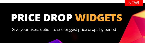 add price drop widget woocommerce