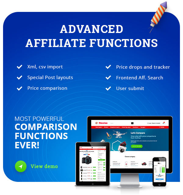 Affiliate theme wordpress
